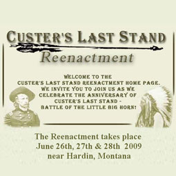 Image Description for Custers Last Stand - the Event in Montana